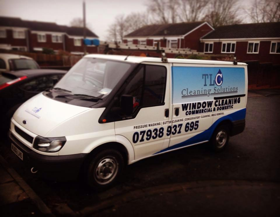 TLC Cleaning Solutions Ltd Van